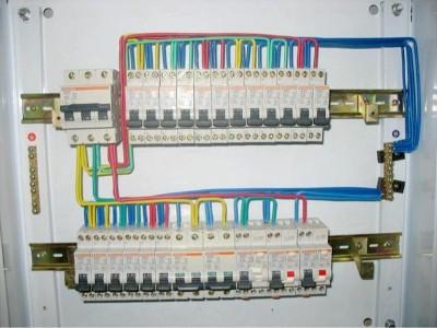 配电柜电缆的接线规范及图片