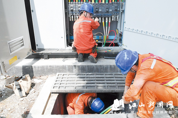 架空电缆入地,铠装电缆用起来!