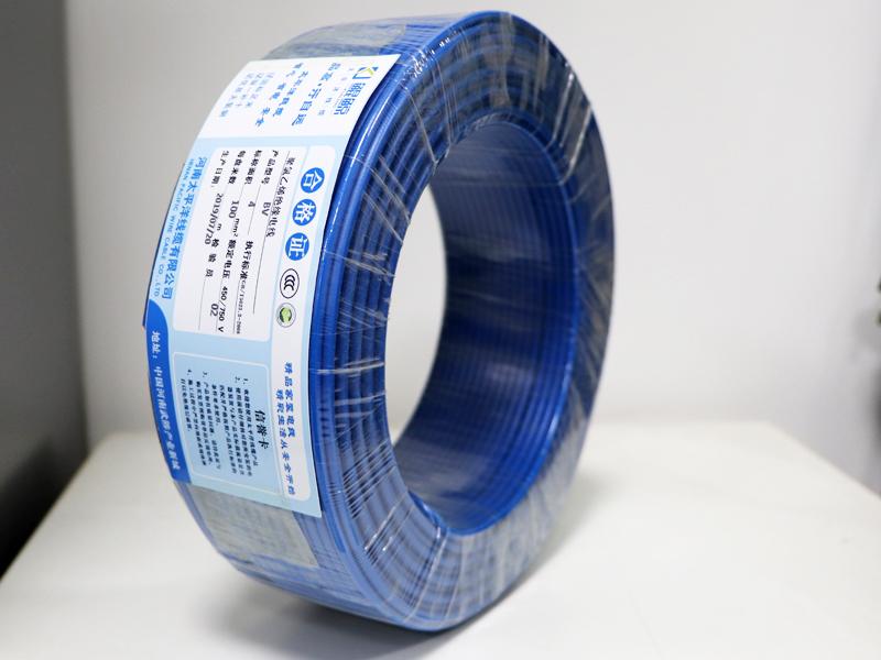 布电线蓝色