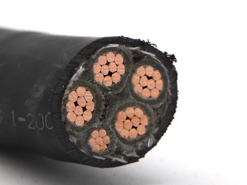 WDZN-YJY4X50+1X25低烟无卤电缆