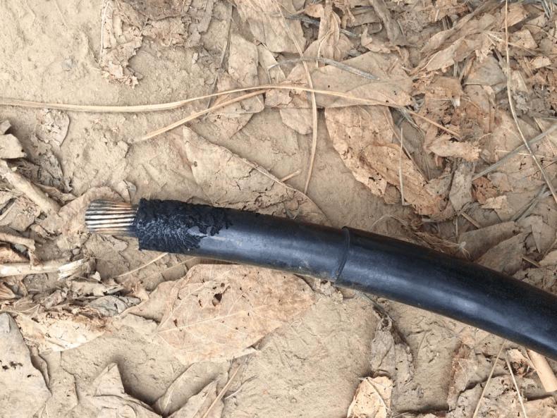 控制电缆两点接地引起的事故分析