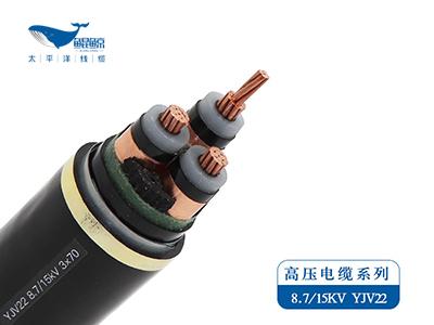 ZC-YJV22/ZC-YJLV22  8.7/15KV  高压电力电缆系列