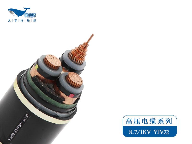 ZC-YJV/ZC-YJLV 8.7/15 kV 高压电力电缆系列