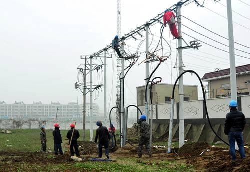 架空电缆敷设要求及施工方案